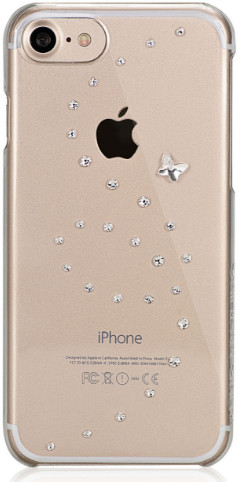 Bling My Thing - Papillon (iPhone 7) - silver