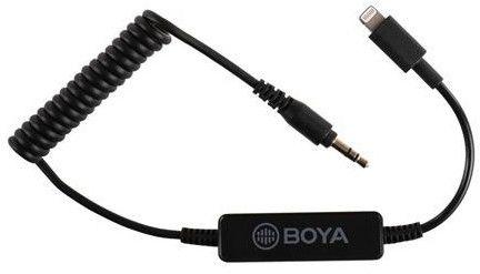 Boya 35C-L Mikrofonadapter Lightning - 3,5 mm