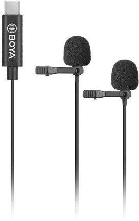 Boya BY-M3D Dual Lavalier USB-C