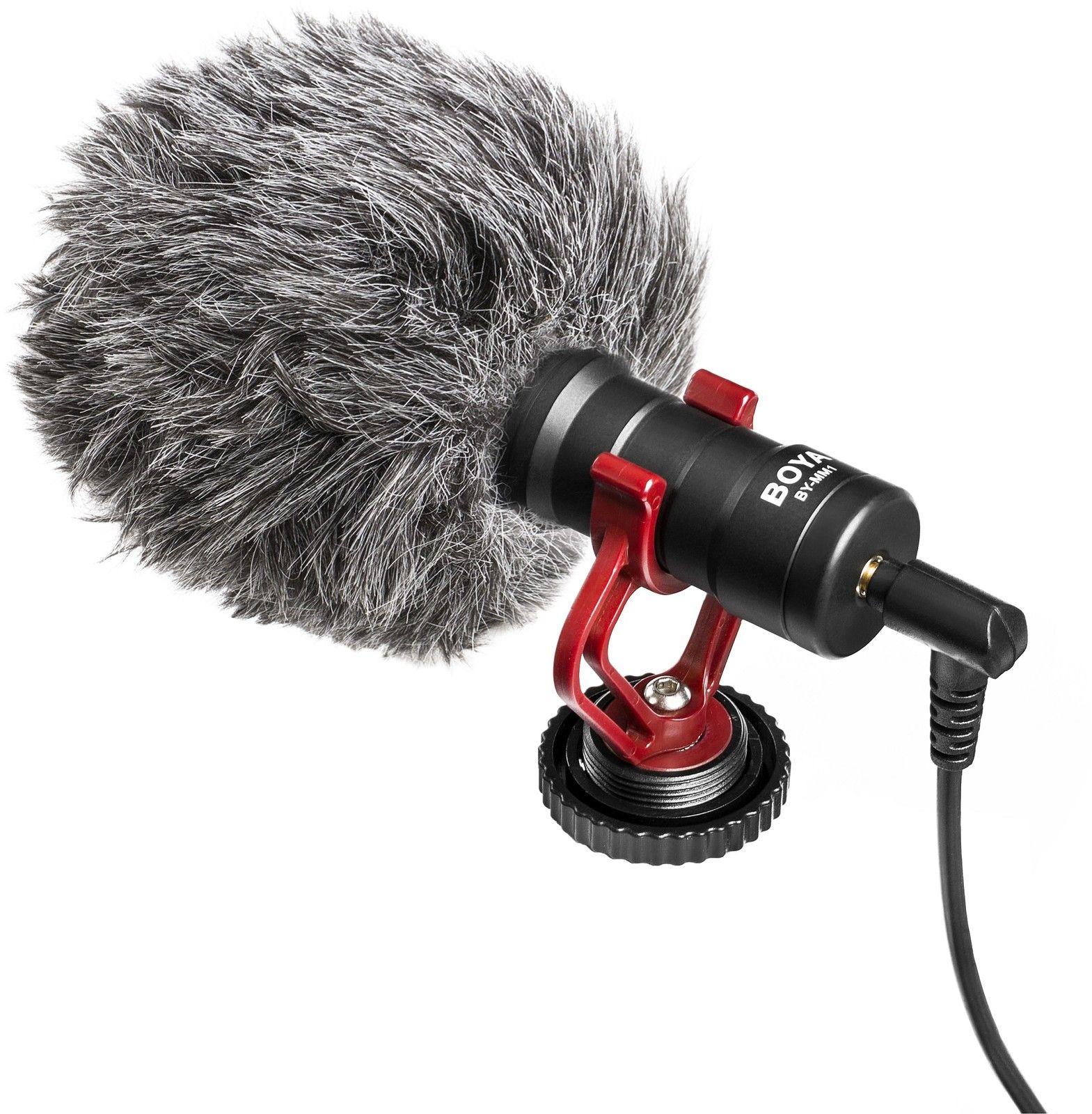 Boya BY-MM1 Cardioid Microphone 3,5 mm