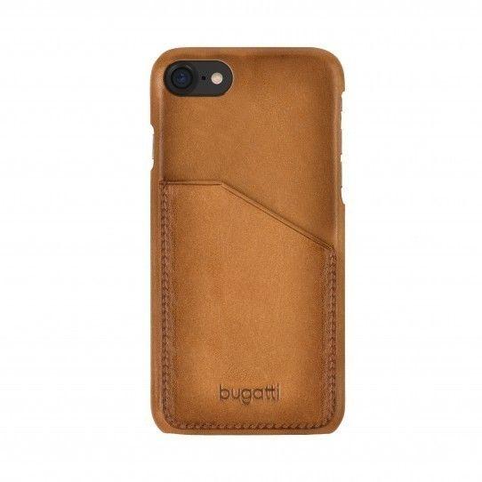 Bugatti Londra Snap Case (iPhone 8/7) - Brun