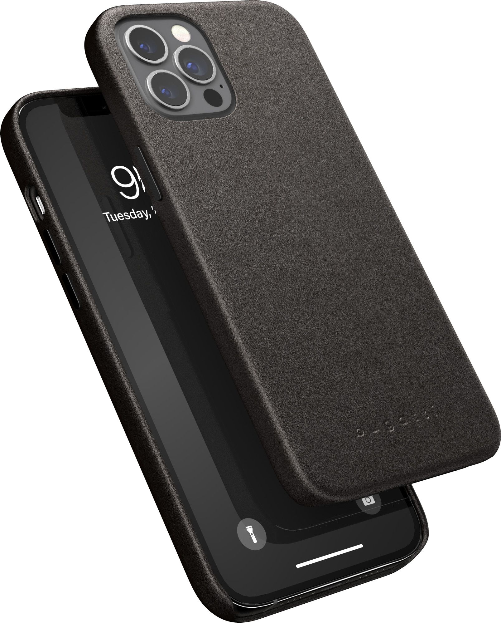Bugatti Porto Full Wrap Case (iPhone 12 Pro Max) - Brun