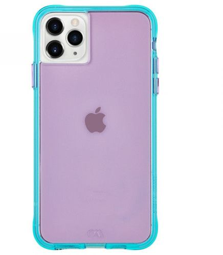 Case-Mate Tough Neon (iPhone 11 Pro Max) - Lila/turkos