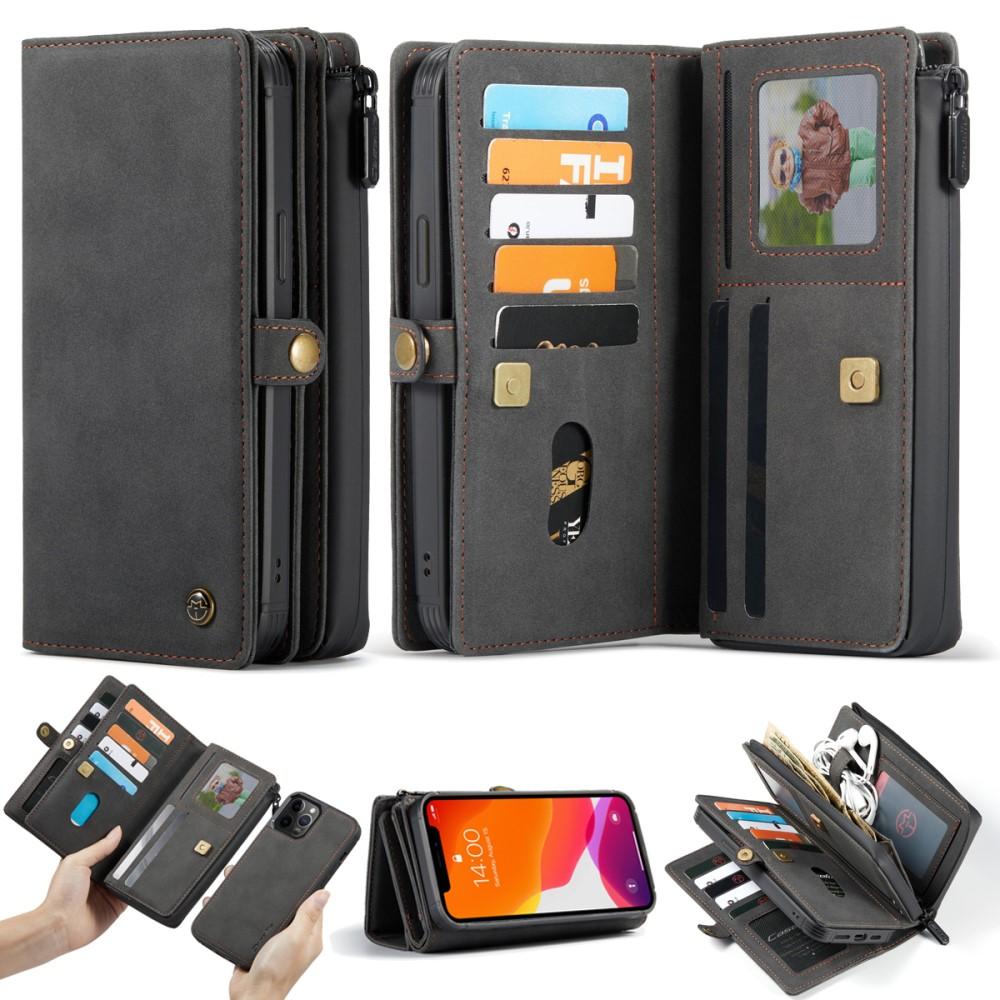 CaseMe Matte 2-in-1 Wallet (iPhone 12/12 Pro) - Brun