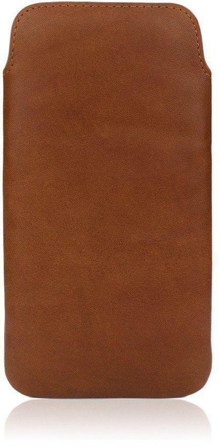 Caseual LeatherPouch (iPhone 8/7/6/6S) - Mörkbrun