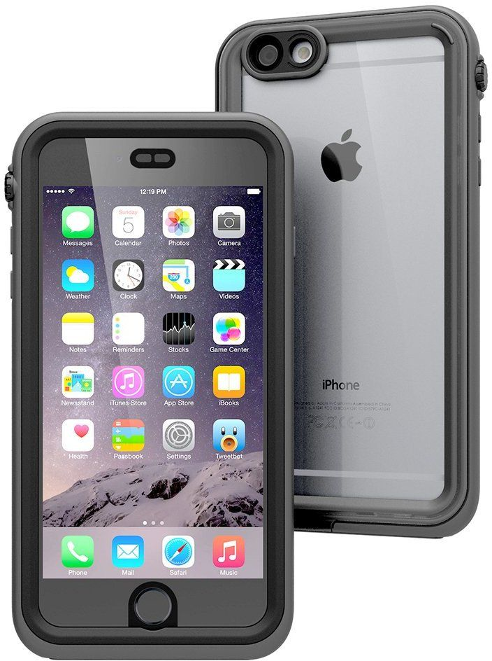 Catalyst Waterproof Case (iPhone 6(S) Plus) – Svart/orange