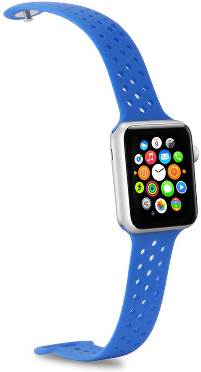 Celly iWatch Silicone Watch Band (42/44 mm) - Svart