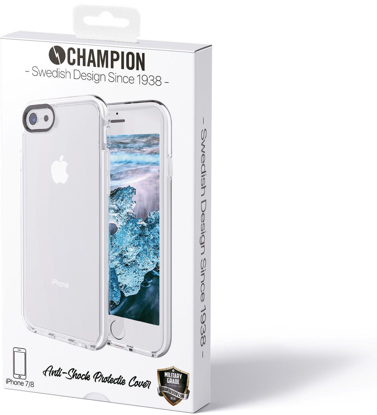 Champion Anti-Shock Cover (iPhone 8 7) - iPhonebutiken.se a381c2bb796da