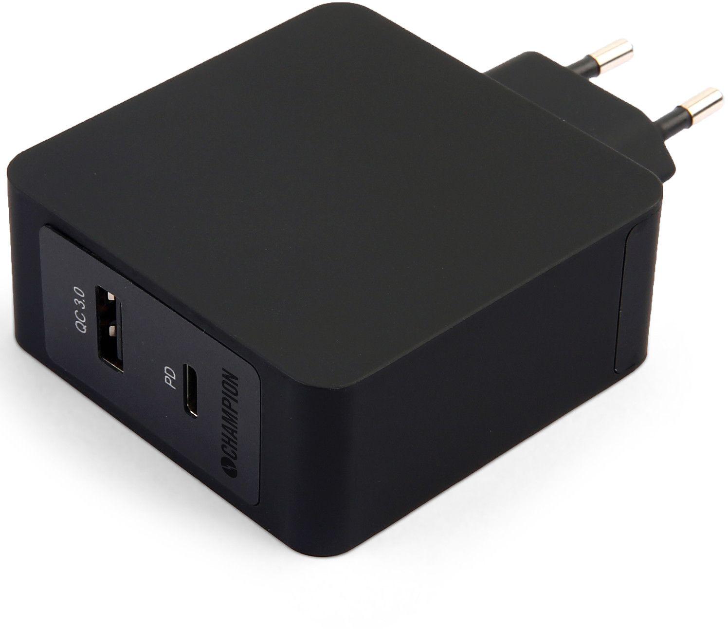 FastCharge QC3PD USB laddare 36W