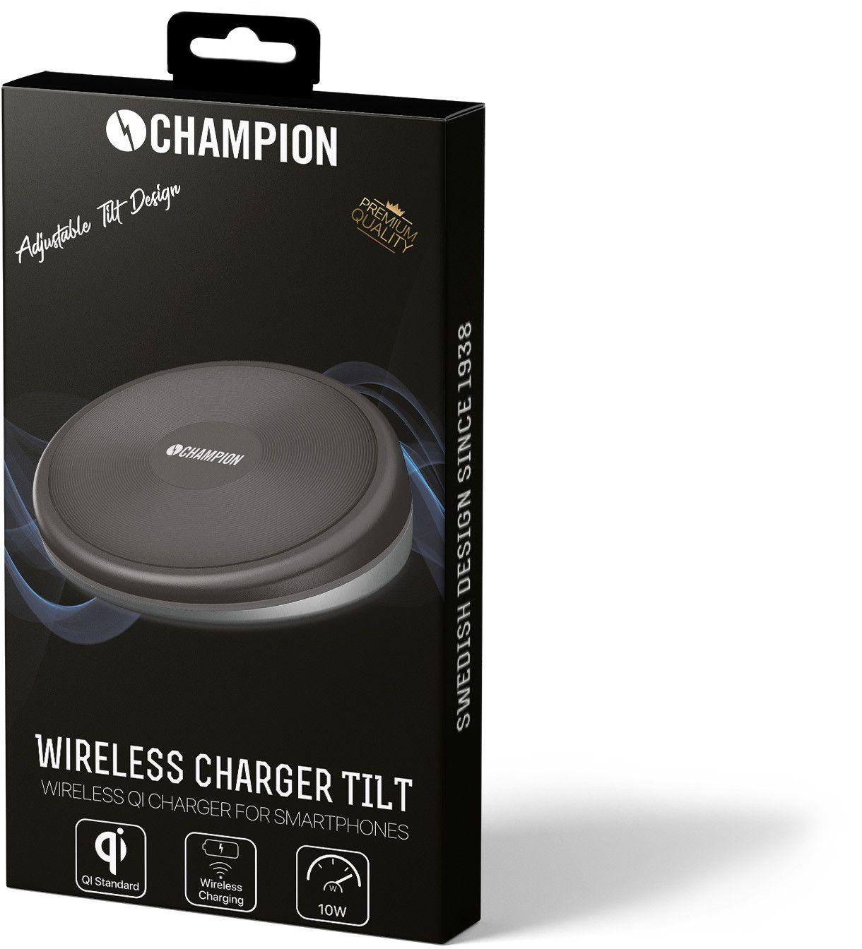 Champion Qi Wireless Charger Tilt