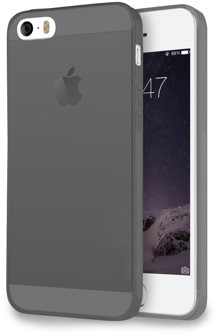 Champion Slim Cover (iPhone 5/5S/SE) – Svart