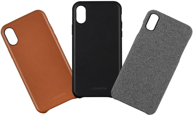 Champion Slim PU-Leather Case