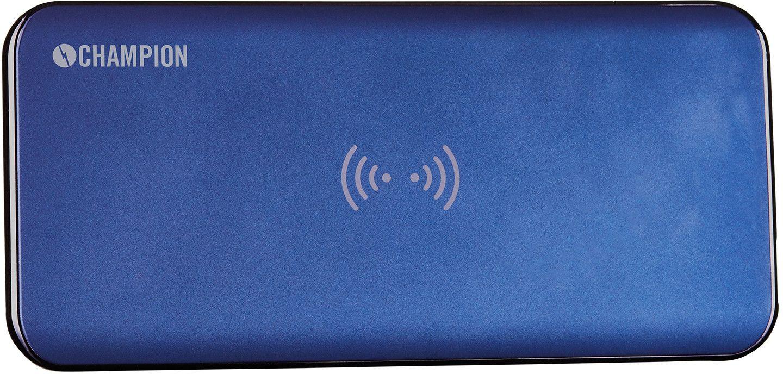 Champion Wireless Powerbank Qi 8000mAh - Blå