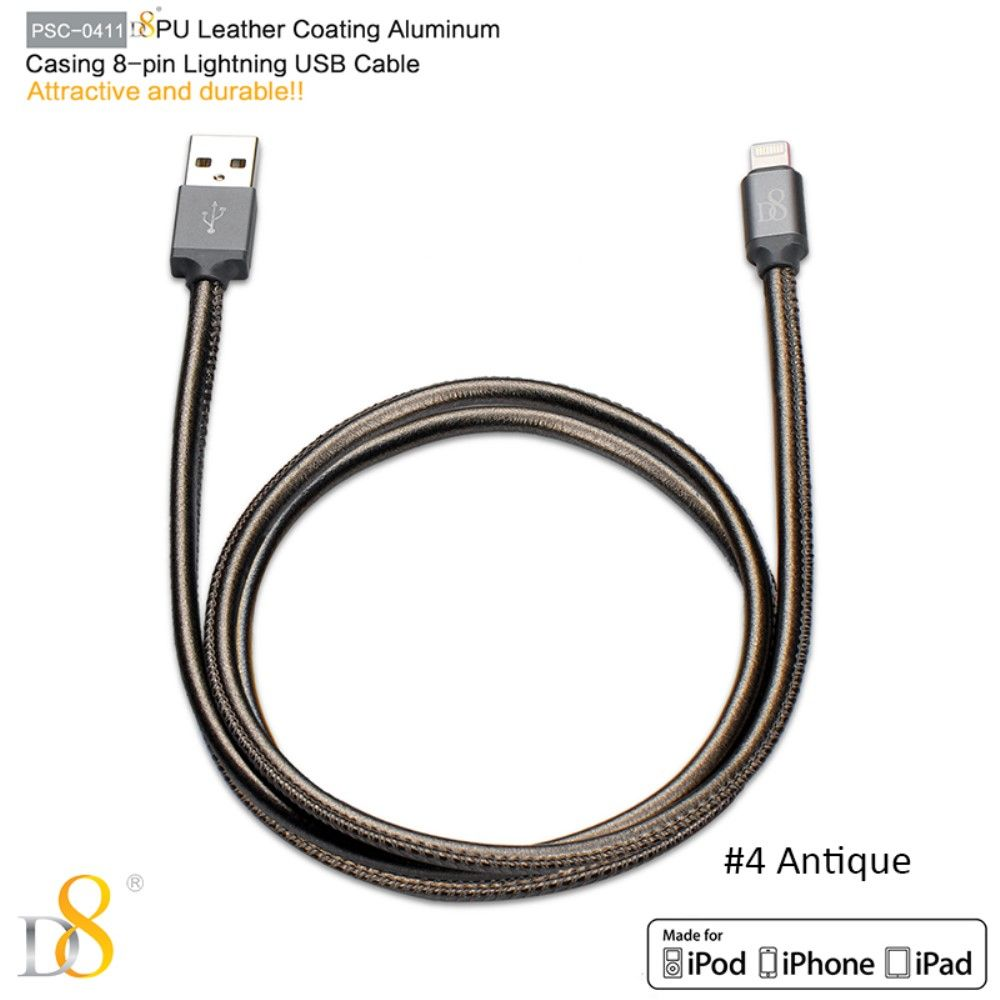 D8 Lightning Sync Cable