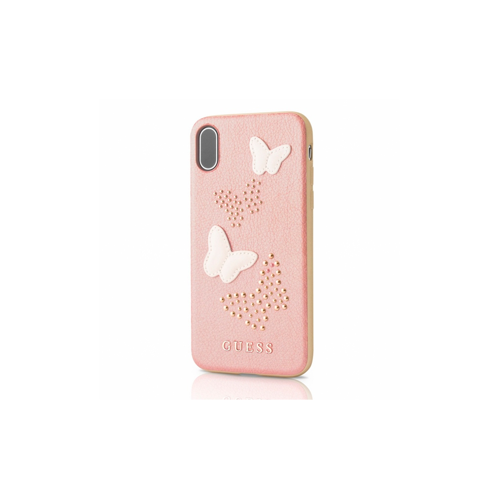 Guess Hard Case Butterfly (iPhone X/Xs)