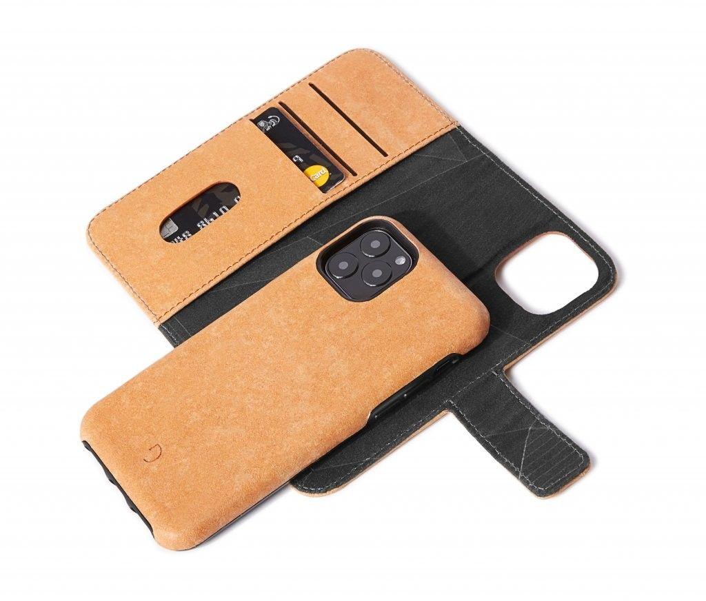 Decoded Detachable Wallet Recyc (iPhone 11 Pro) - Ljusgrå