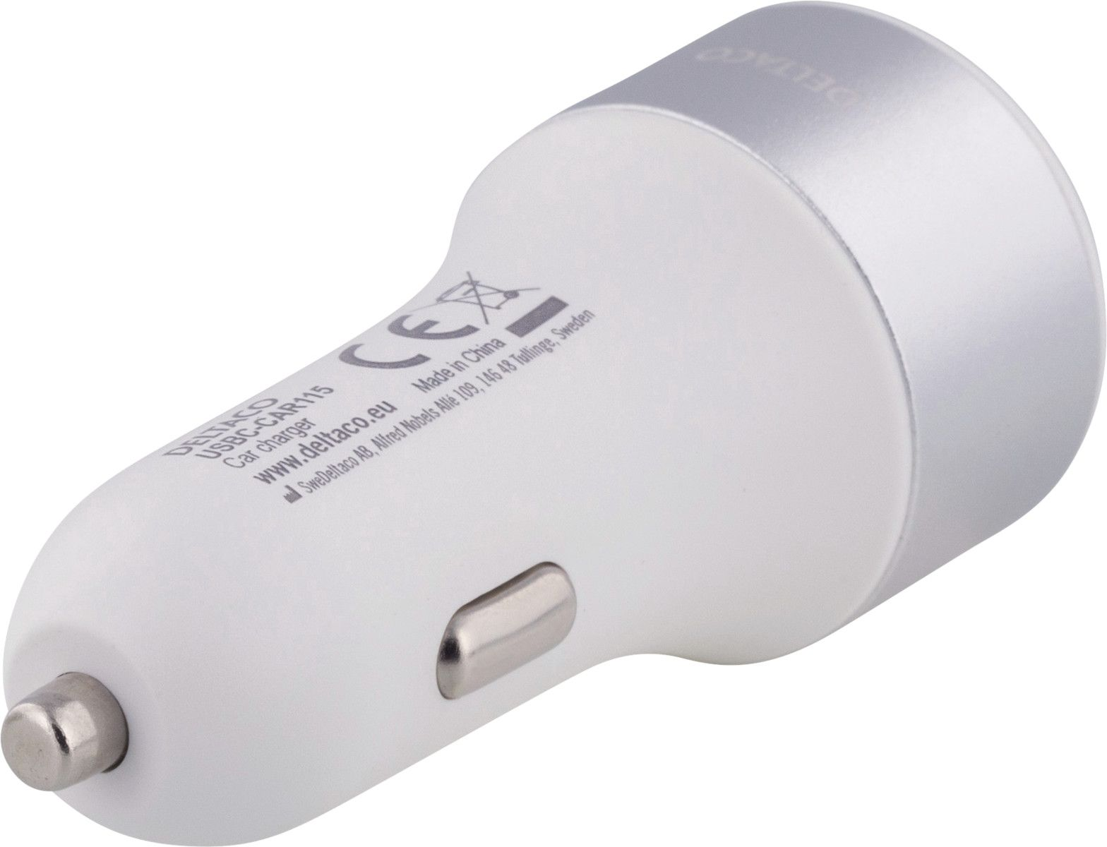 Deltaco Billaddare USB C 63W
