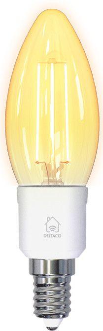 Deltaco Smart Home Filament LED-lamp E14