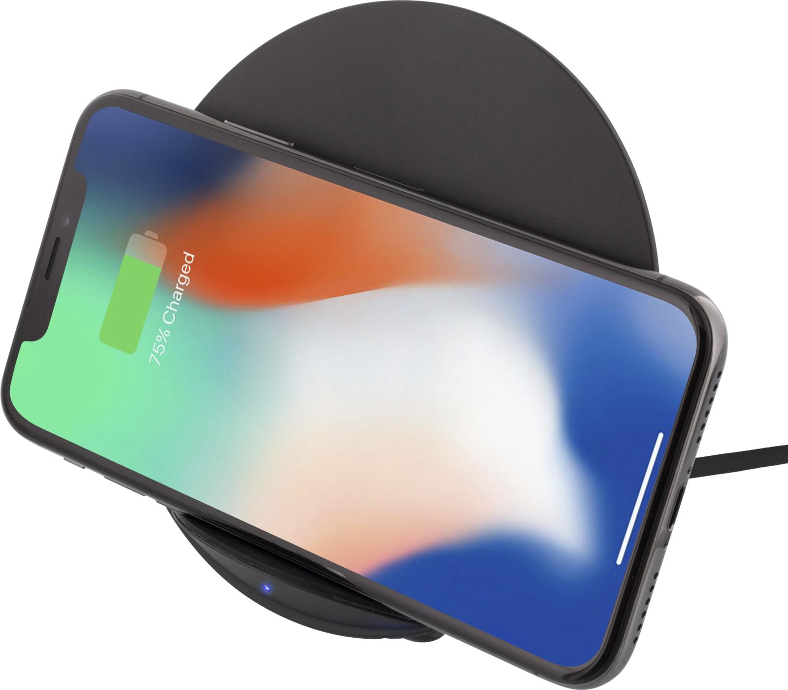 Deltaco Wireless Charger Qi 10W - Svart