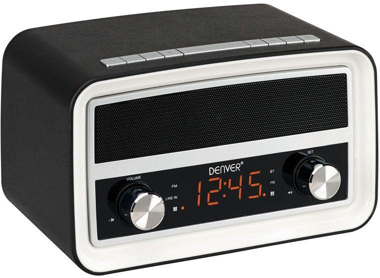 Denver CRB-619 - klockradio - Svart