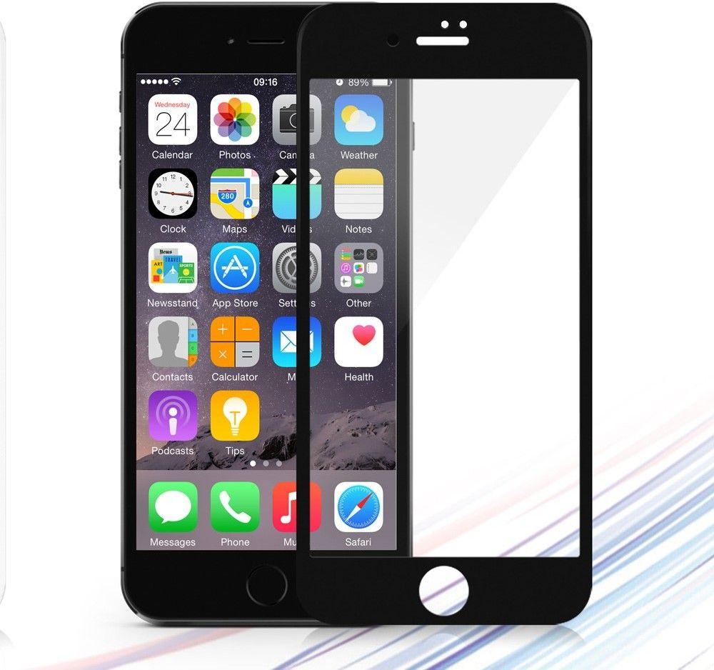 Devia Full Tempered Glass (iPhone 8/7 Plus) - Svart