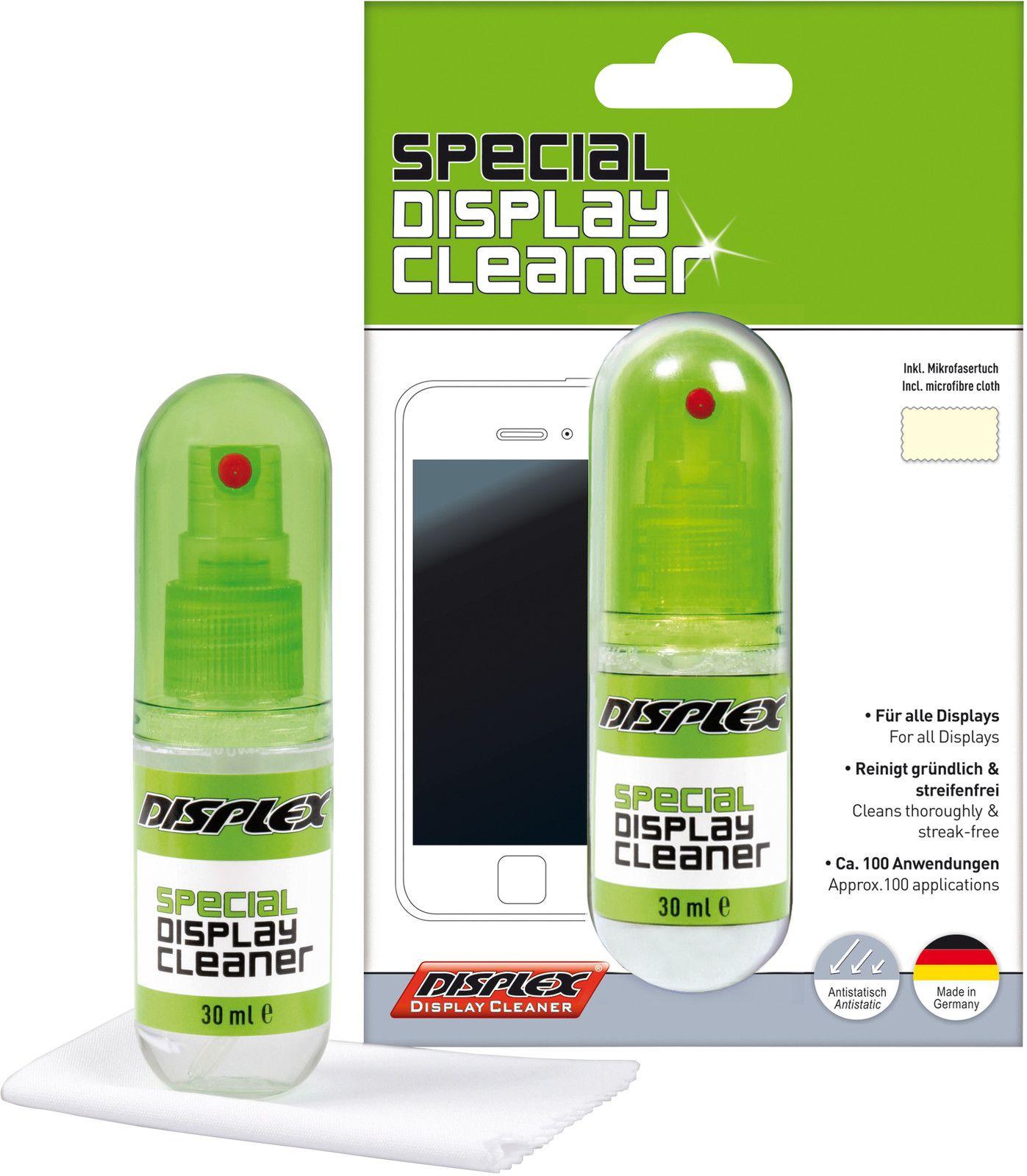 Displex Display Cleaner & Cloth