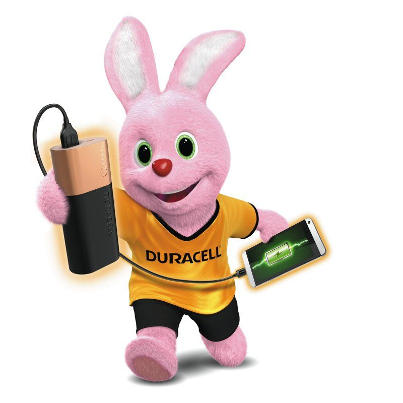 Duracell Rechargeable Power Bank 10,050 mAh