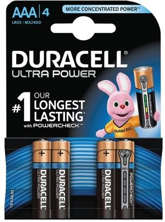 Duracell Ultra Power AAA/L03 4-pack