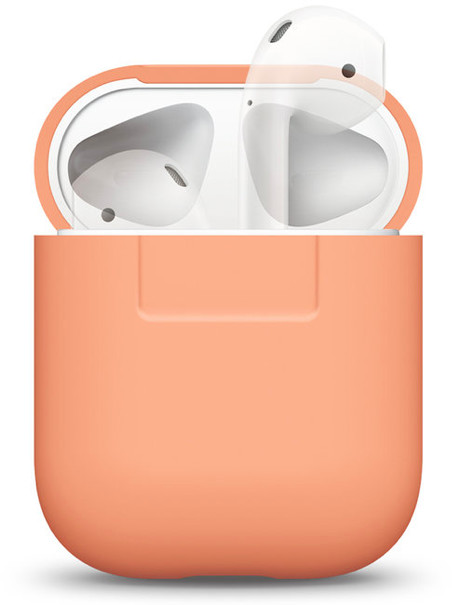 Elago AirPods Silicone Case for AirPods Case - orange