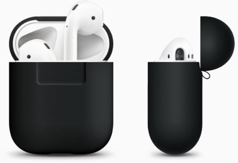 Elago AirPods Silicone Case for AirPods Case - svart