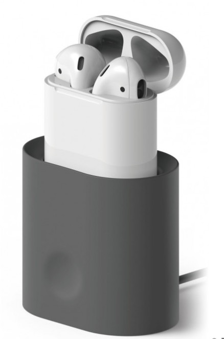 Elago Charging Station för AirPods - grå