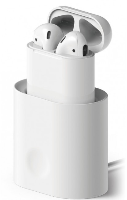 Elago Charging Station för AirPods - vit