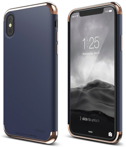 Elago Empire Case (iPhone X/Xs) - blå