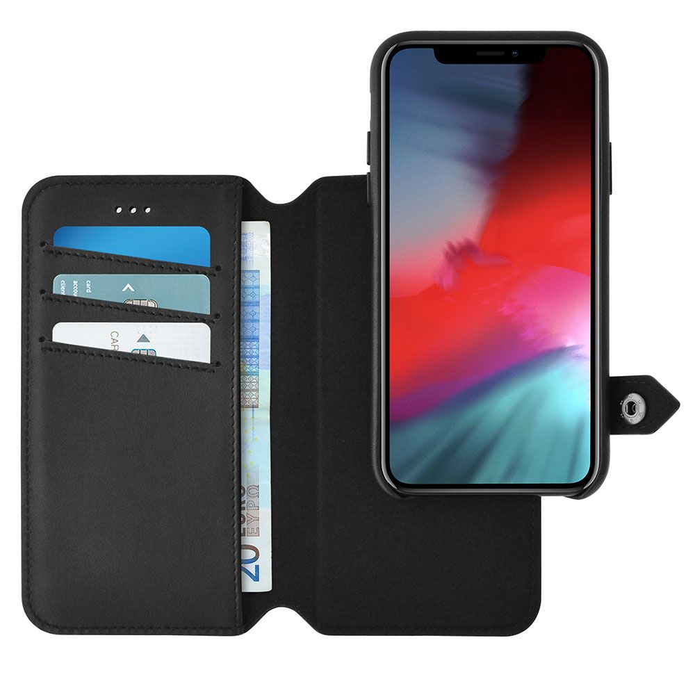 Ercko 2-in-1 Magnet Case + Wallet (iPhone Xs)