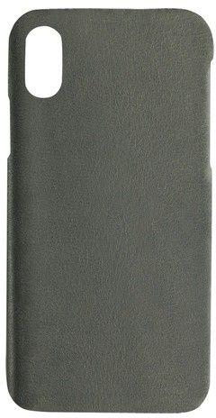 Essentials Copenhagen Leather Cover (iPhone X/Xs) - Grå