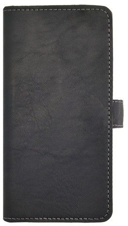 Essentials Leather Booklet (iPhone 5/5S/SE) - Svart
