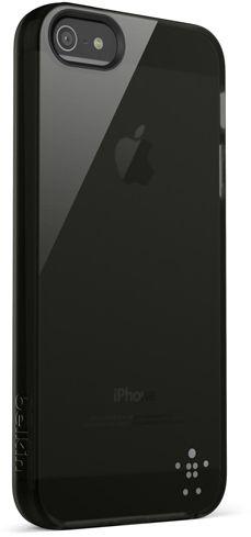 Belkin Grip Sheer Case (iPhone 5/5S/SE) - Svart