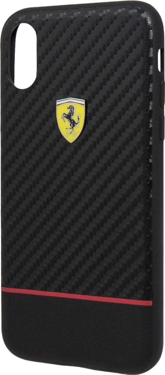 Ferrari Scuderia Carbon Hard Case (iPhone X/XS)