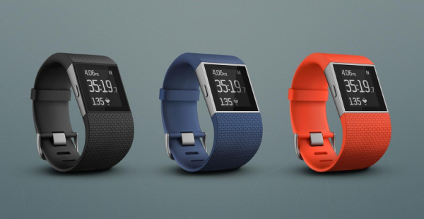 Fitbit Surge – Blå Small