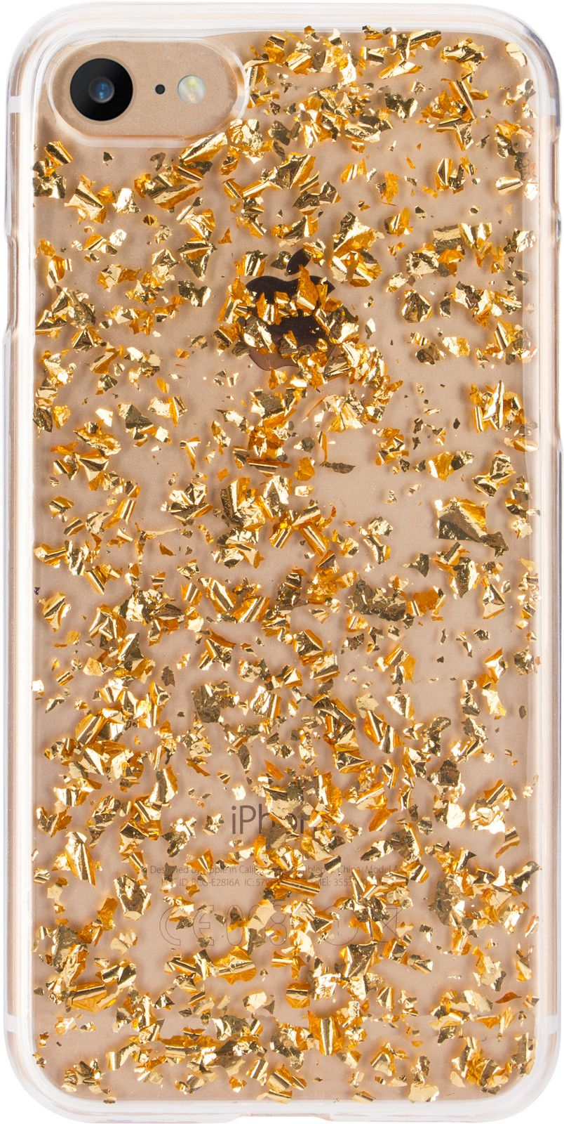 Flavr iPlate Flakes (iPhone 8/7/6/6S) - Guld