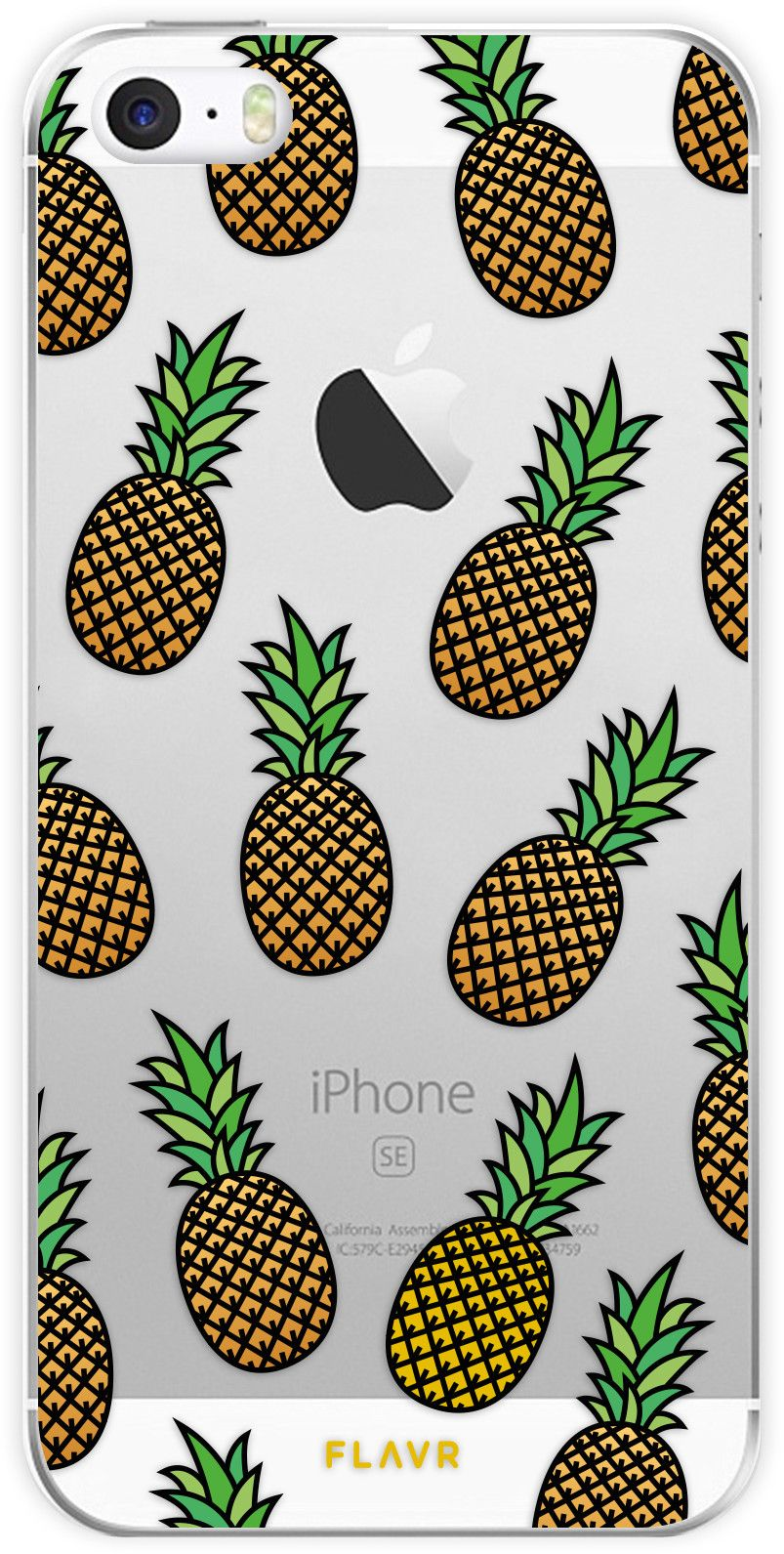 Flavr iPlate Pineapples Case (iPhone 5/5S/SE)