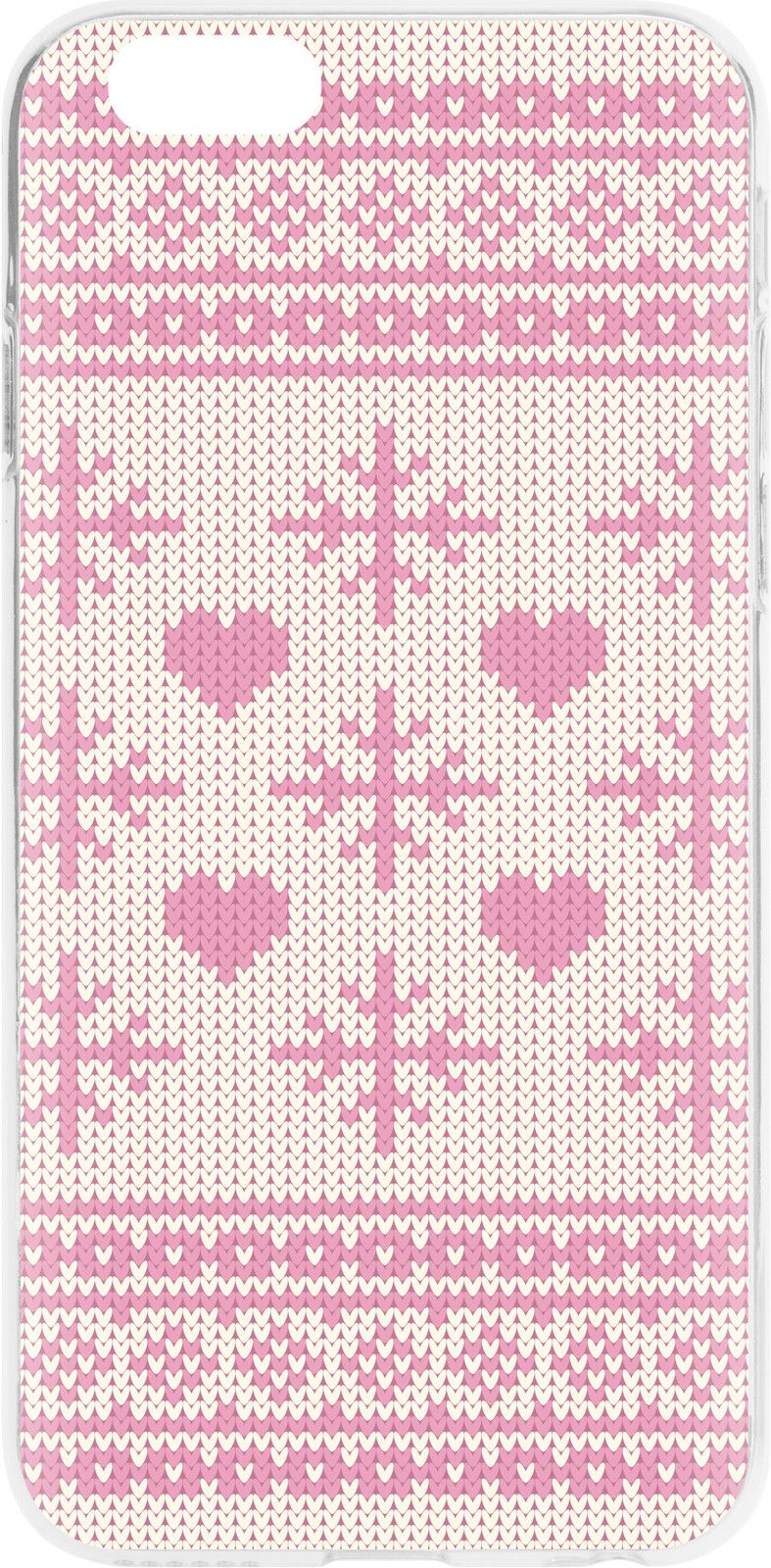 Flavr Xmas Pink Sweater (iPhone 6/6S)