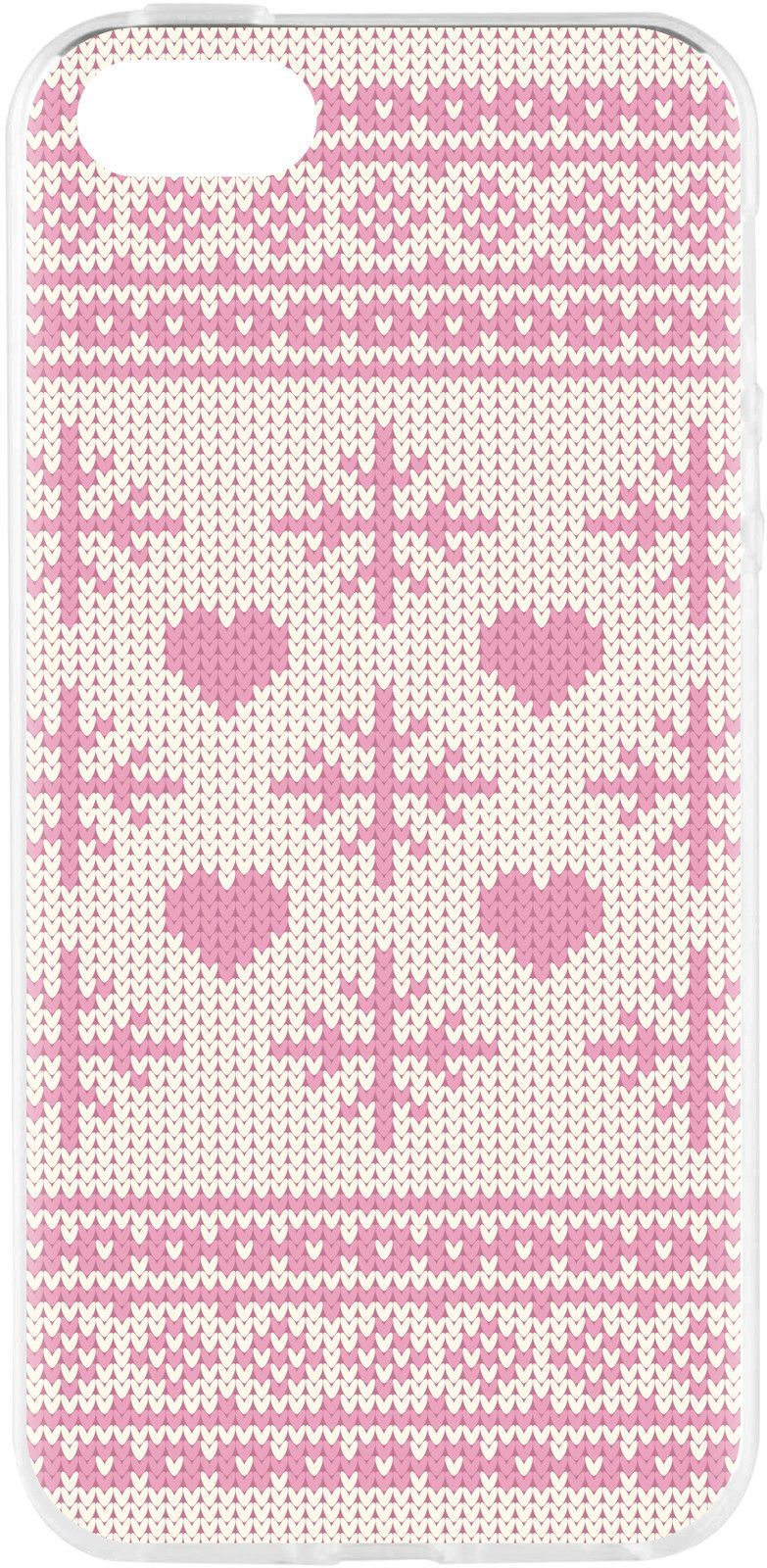 Flavr Xmas Pink Ugly Sweater (iPhone 5/5S/SE)