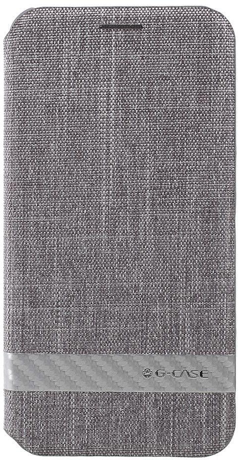 G-Case Canvas Cover (iPhone X) - Grå