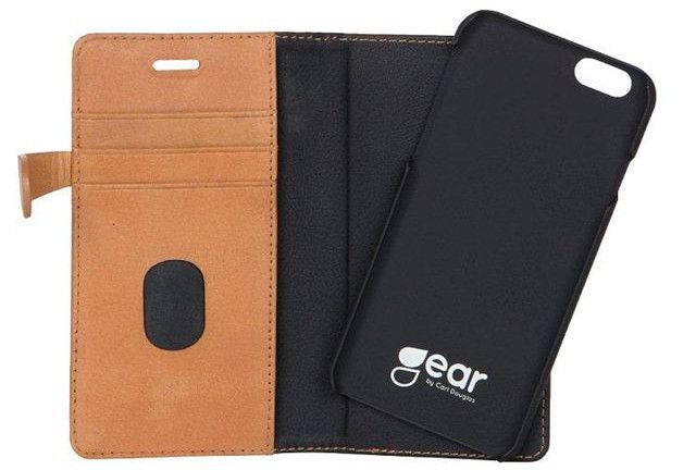 Gear Buffalo Wallet (iPhone 6/6S) – Ljusbrun
