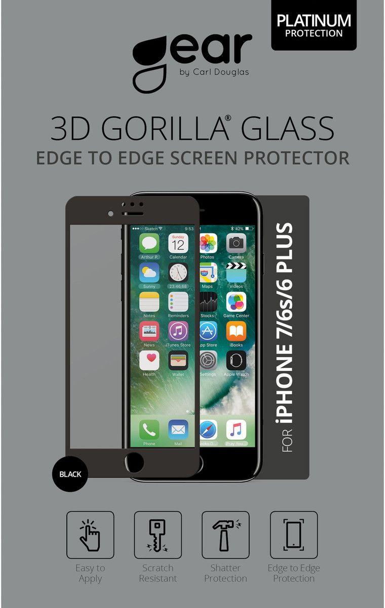 Gear Edge-to-Edge (iPhone 6(S)/7 Plus) – Svart