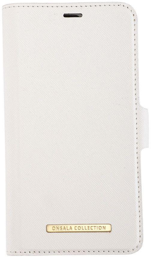 Gear Onsala Magnetic Saffiano Wallet (iPhone 12/12 Pro) - Röd