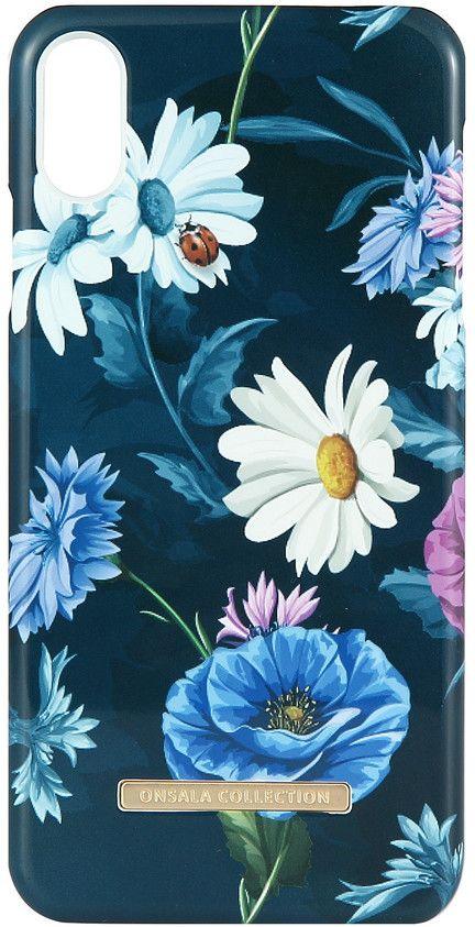 Gear Onsala Magnetic Shine (iPhone Xs Max) - Dark Flower