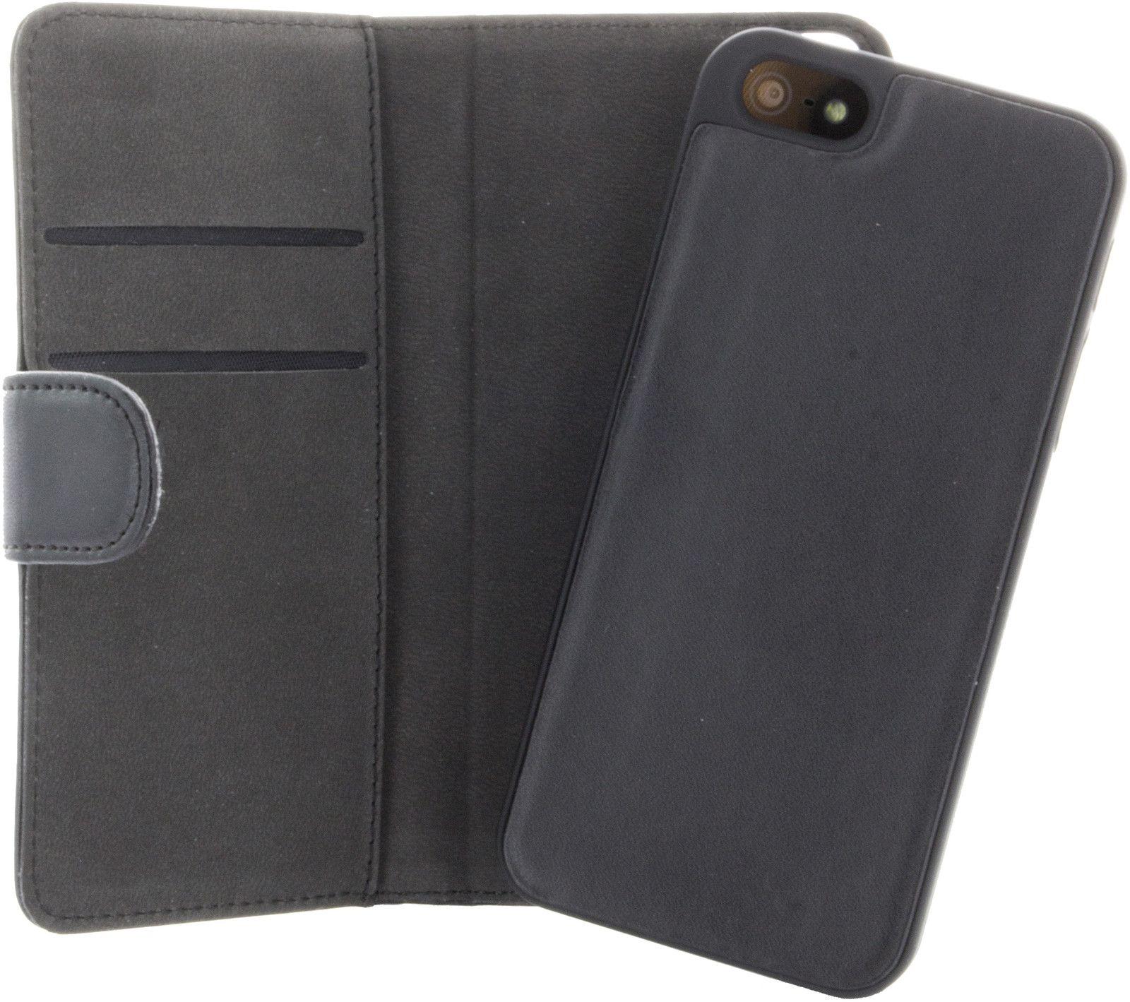 Gear Plånboksväska med magnetskal (iPhone 5/5S/SE)