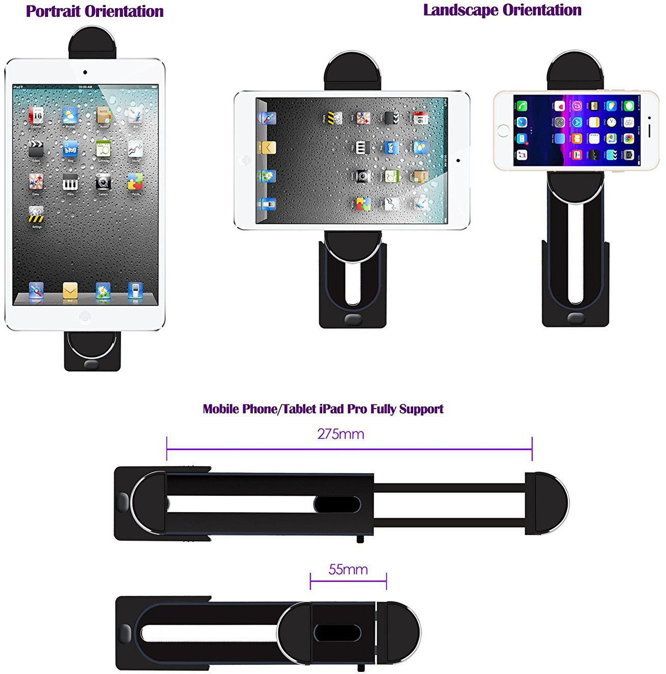 Gear Universal Clip Mount (iPad/iPhone)